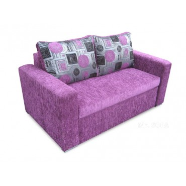 Nieduża wysuwana sofa z...