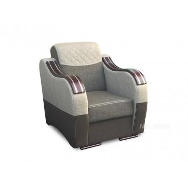 Stylowy fotel z ozdobnym...