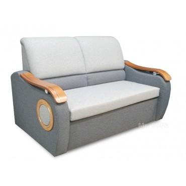 Rozkładana sofa z ozdobnym...