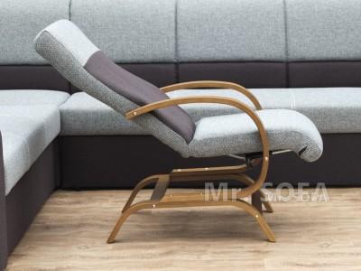 rozkładany fotel z funkcją relax