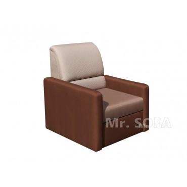 solidny fotel ze stałym oparciem