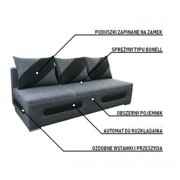 Rozkładana kanapa z...