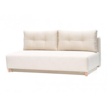 skandynawska kanapa z wysokimi nóżkami