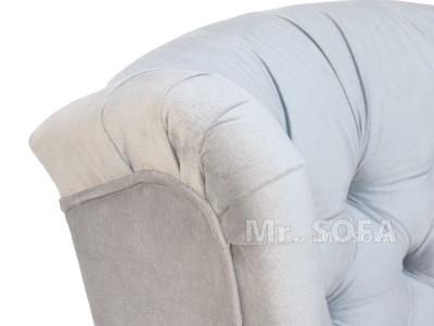 fotel uszak w materiale plamoodpornym