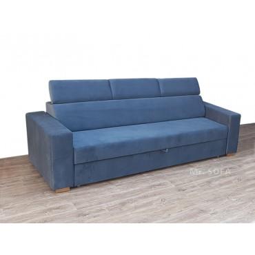 kanapa z zagłówkami regulowanymi