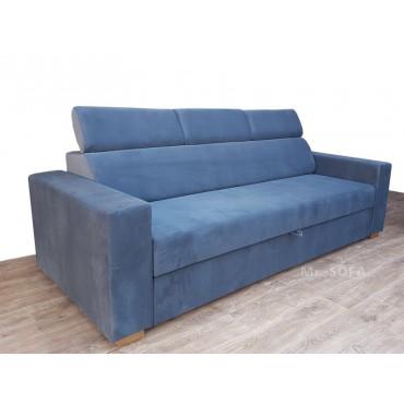 trzyosobowa sofa z zagłówkami