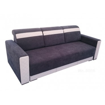 Nowoczesna kanapa z białymi...