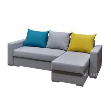 narożnik z kolorowymi poduszkami