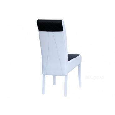 Krzesło K-5 d czarno-białe...