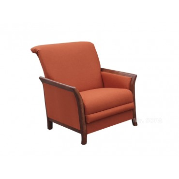 Fotel Retro z ozdobnym...