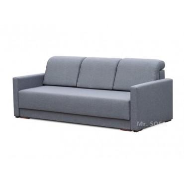 Szara kanapa z poduszkami...